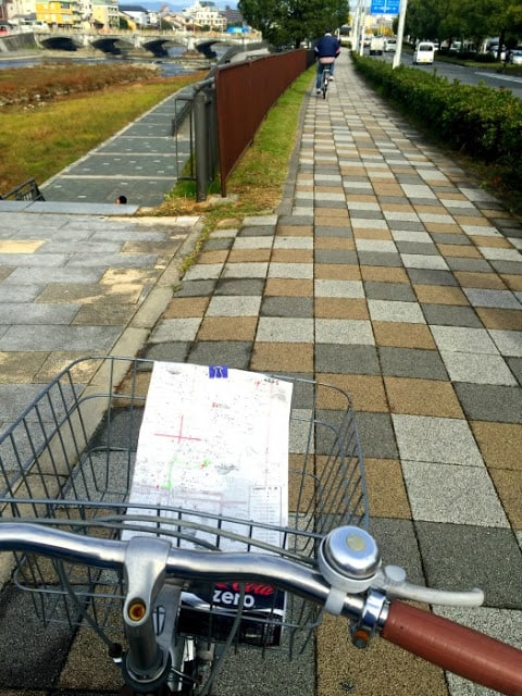 1 day tour of Kyoto by bicycle