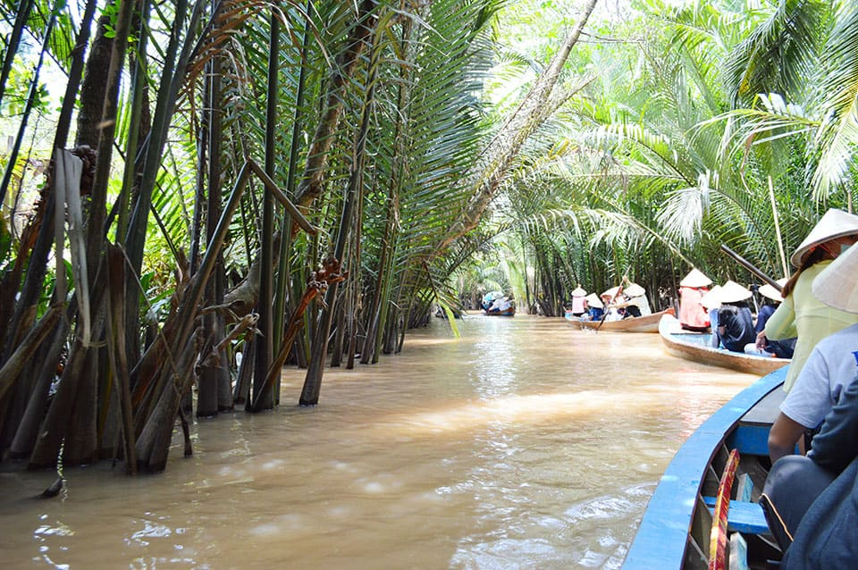 Cruise the Mekong River at Ben Tre
