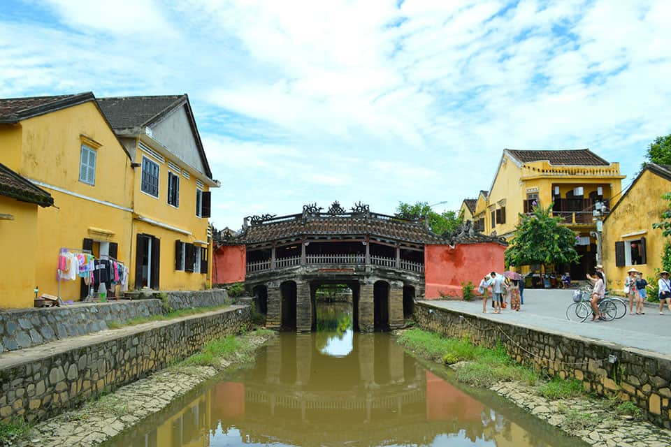 UNESCO Japanese Covered Bridge Hoi An Ancient Town
