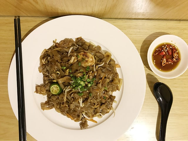 Room service Kway Teow noodles Imperial Riverbank Hotel
