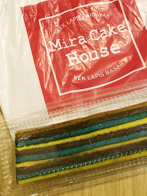 Mira Cake House Kuching layer cake