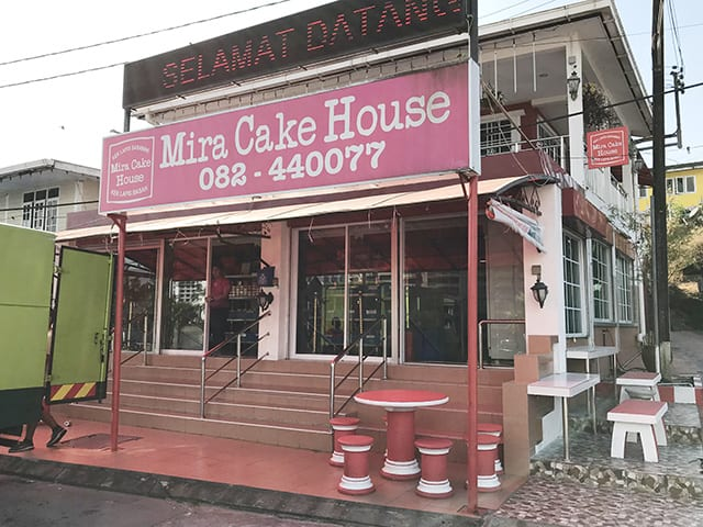 Head to Mira Cake House Kuching for a layer cake
