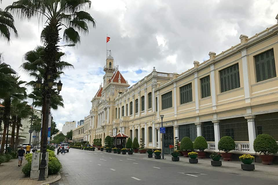 The People's Committee Building Saigon