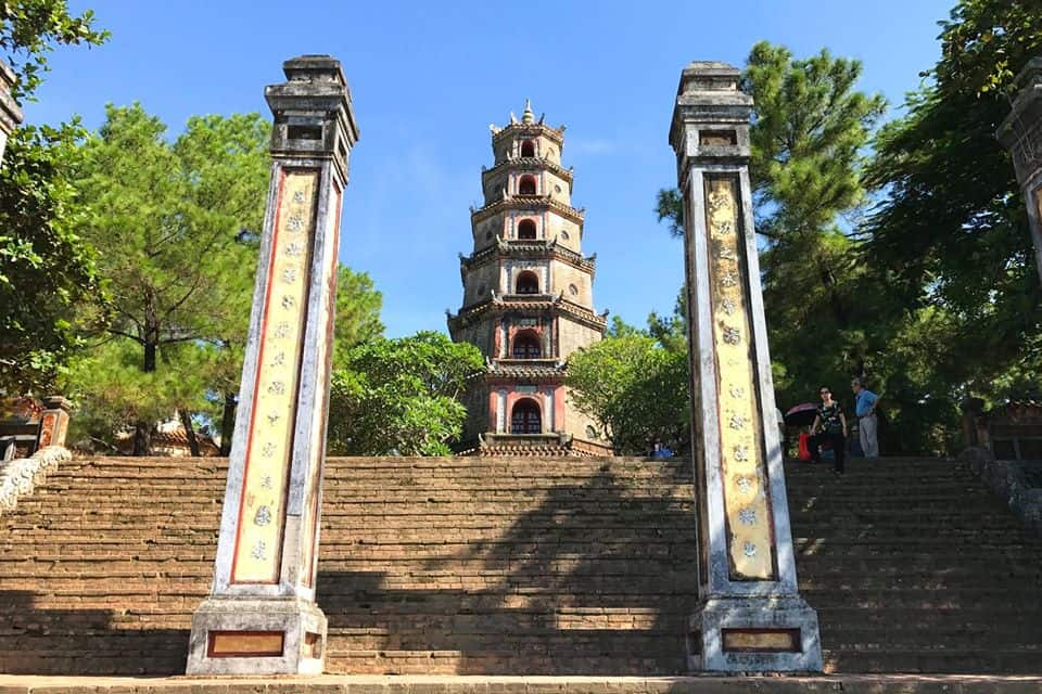 Half day tour from Hue Thien Mu Pagoda