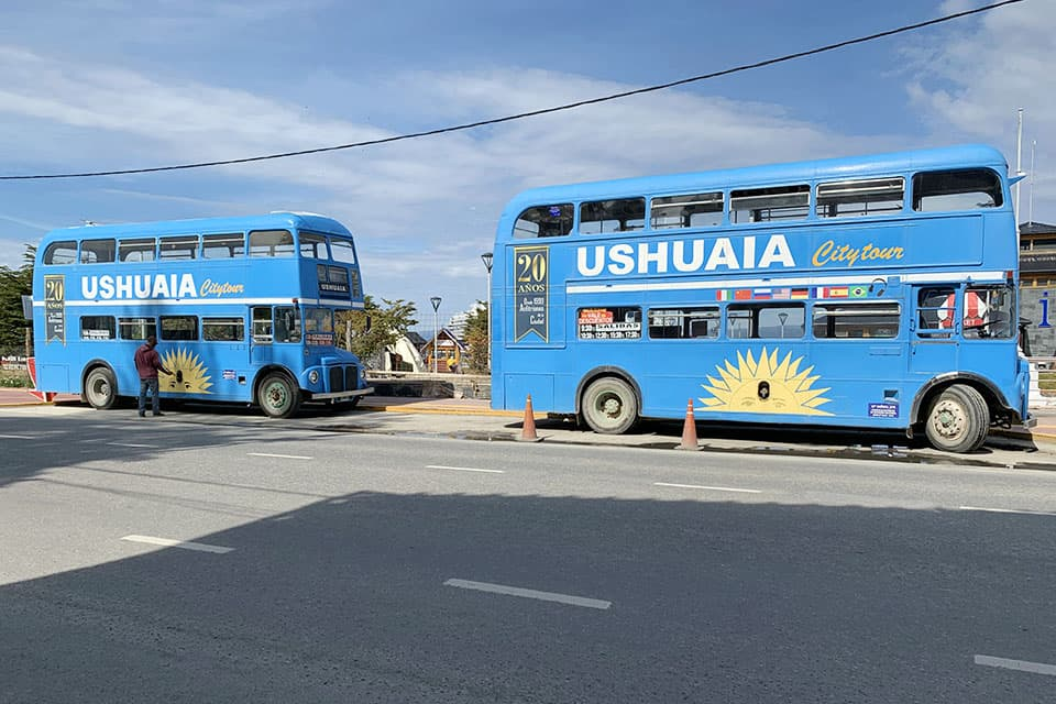 Spend time in Ushuaia city tour