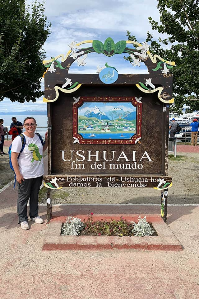 Travel to the end of the world in Ushuaia Argentina