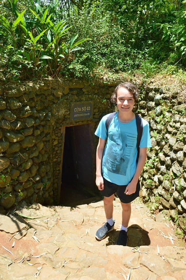 Vinh Moc Tunnels DMZ half day tour from Hue