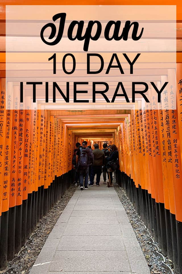 The best places to visit in Japan are in this 10 day itinerary