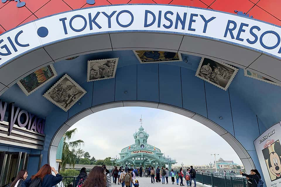Visit Disneyland Tokyo as part of your 10 day itinerary Japan