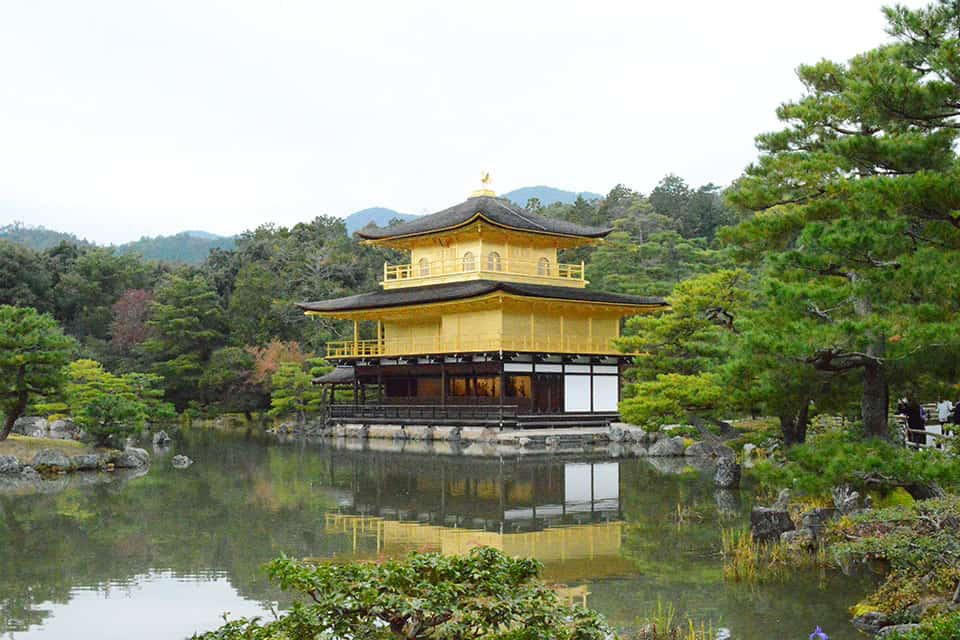 Visit the golden pavilion Kyoto