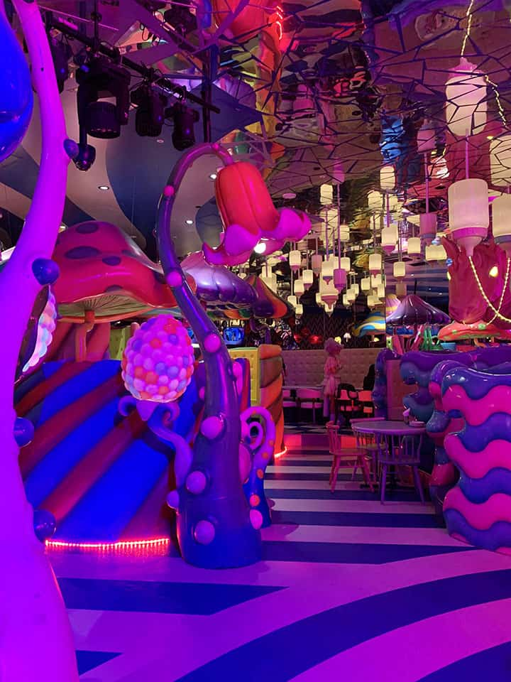 Dinner, drinks and a show at Kawaii Monster Restaurant Harajuku Tokyo