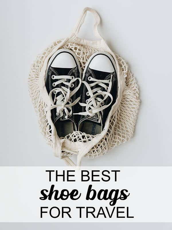 Guide to buying the best shoe bags for travel