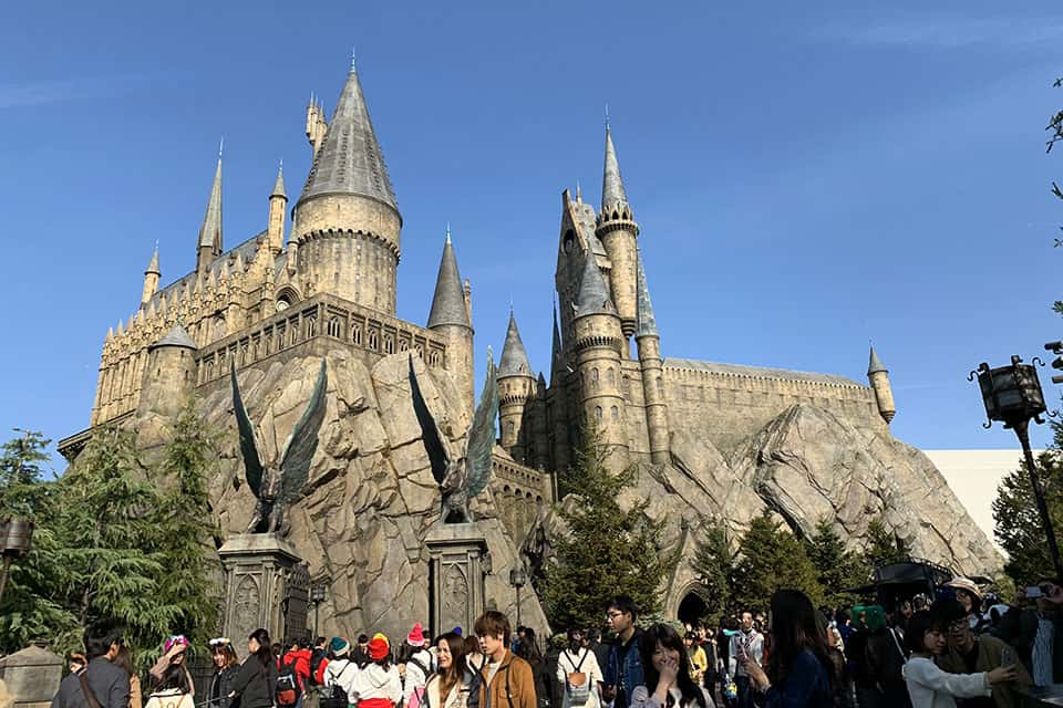 Harry Potter World at Universal Studios Osaka Japan