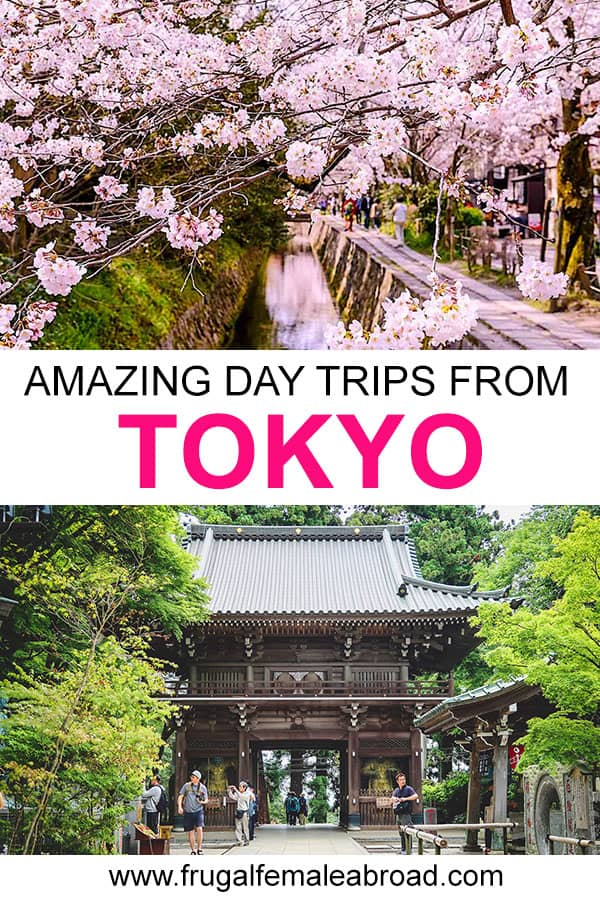 Day trips to take from Tokyo